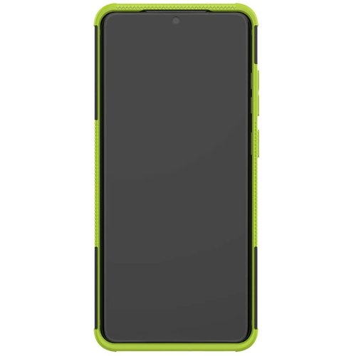 Cover2day  Case for Samsung Galaxy S20 Ultra - Heavy Duty Hybrid Tough Rugged Dual Layer Armor - Kickstand Cover - Green