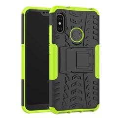 Schokbestendige Back Cover - Xiaomi Mi A2 - Groen