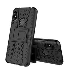 Schokbestendige Back Cover - Xiaomi Mi A2 - Zwart