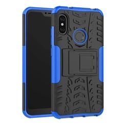 Schokbestendige Back Cover - Xiaomi Mi A2 - Blauw