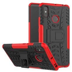 Schokbestendige Back Cover - Xiaomi Mi Max 3 - Rood