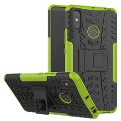 Schokbestendige Back Cover - Xiaomi Mi Max 3 - Groen