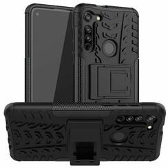Motorola Moto G8 Hoesje - Schokbestendige Back Cover - Zwart