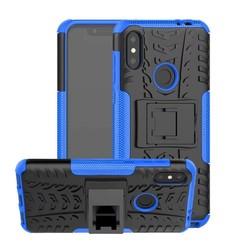 Schokbestendige Back Cover - Motorola Moto One Power (P30 Note) - Blauw