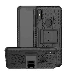 Schokbestendige Back Cover - Motorola Moto One Power (P30 Note) - Zwart