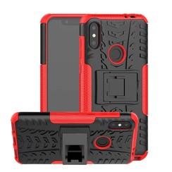 Schokbestendige Back Cover - Motorola Moto One Power (P30 Note) - Rood