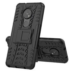 Nokia 6.2 Hoesje - Schokbestendige Back Cover - Zwart