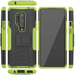 OnePlus 8 Pro Hoesje - Schokbestendige Back Cover - Groen