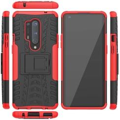 OnePlus 8 Pro Hoesje - Schokbestendige Back Cover - Rood