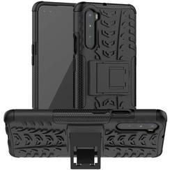OnePlus Nord Hoesje - Schokbestendige Back Cover - Zwart