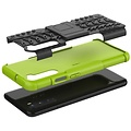 Cover2day  Case for OnePlus Nord - Heavy Duty Hybrid Tough Rugged Dual Layer Armor - Kickstand Cover - Green