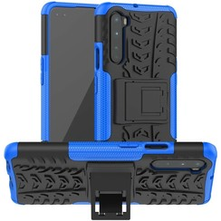 Case for OnePlus Nord - Heavy Duty Hybrid Tough Rugged Dual Layer Armor - Kickstand Cover - Blue