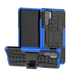 Schokbestendige Back Cover - Huawei P30 Pro - Blauw