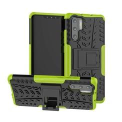Schokbestendige Back Cover - Huawei P30 Pro - Groen