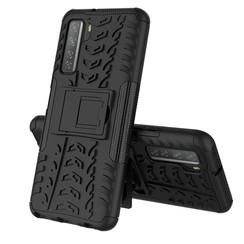 Huawei P40 Hoesje - Schokbestendige Back Cover - Zwart