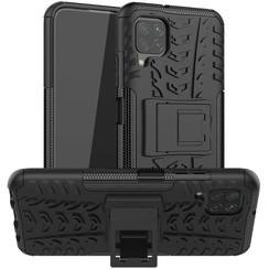Huawei P40 lite Hoesje - Schokbestendige Back Cover - Zwart