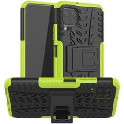 Huawei P40 lite Hoesje - Schokbestendige Back Cover - Groen