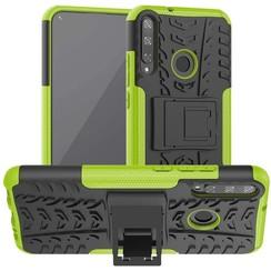 Huawei P40 Lite E Hoesje - Schokbestendige Back Cover - Groen