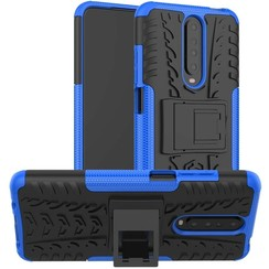 Xiaomi Redmi K30 Hoesje - Schokbestendige Back Cover - Blauw