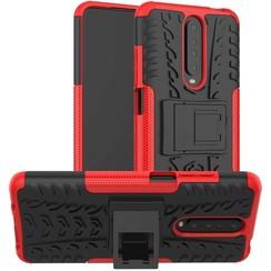 Xiaomi Redmi K30 Hoesje - Schokbestendige Back Cover - Rood