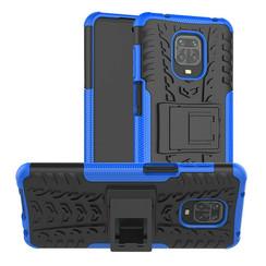 Xiaomi Redmi Note 9S Hoesje - Schokbestendige Back Cover - Blauw