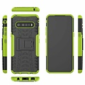 Cover2day  Case for LG V60 ThinQ 5G - Heavy Duty Hybrid Tough Rugged Dual Layer Armor - Kickstand Cover - Green