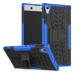 Schokbestendige Back Cover voor Sony Xperia XA1 Ultra - Blauw