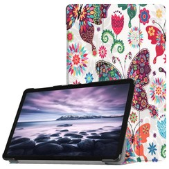 Samsung Galaxy Tab A 10.5 Tri-Fold Book Case  Vlinder