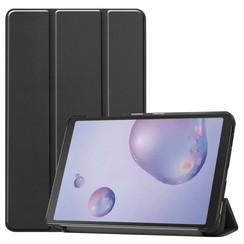 Samsung Galaxy Tab A 8.4 (2020) hoes - Tri-Fold Book Case - Zwart