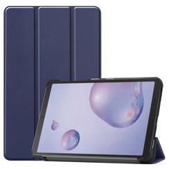 Samsung Galaxy Tab A 8.4 (2020) hoes - Tri-Fold Book Case - Donker Blauw