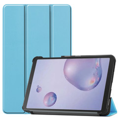 Samsung Galaxy Tab A 8.4 (2020) hoes - Tri-Fold Book Case - Licht Blauw