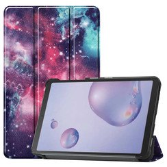 Samsung Galaxy Tab A 8.4 (2020) hoes - Tri-Fold Book Case - Galaxy
