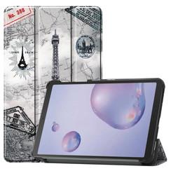 Samsung Galaxy Tab A 8.4 (2020) hoes - Tri-Fold Book Case - Eiffeltoren