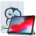 Cover2day Apple iPad Pro 11 hoes - Tri-Fold Book Case - Uil