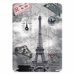 Apple iPad Pro 11 (2018) hoes - Tri-Fold Book Case - Eiffeltoren
