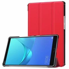 Huawei MediaPad M5 8.4 inch - Tri-fold Book Case - Rood