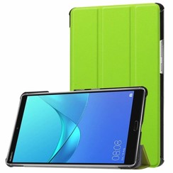 Huawei MediaPad M5 8.4 inch - Tri-fold Book Case - Groen