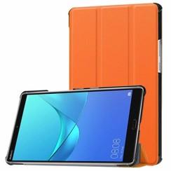 Huawei MediaPad M5 8.4 inch - Tri-fold Book Case - Oranje