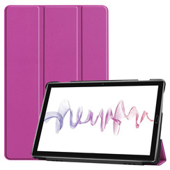 Huawei MediaPad M6 10.8 hoes - Tri-Fold Book Case - Paars