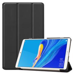 Case2go - Case for Huawei MediaPad M6 8.4 - Slim Tri-Fold Book Case - Lightweight Smart Cover - Black
