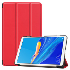 Huawei MediaPad M6 8.4 hoes - Tri-Fold Book Case - Rood