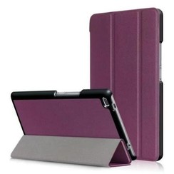 Lenovo Tab 4 8.0 - Tri-Fold Book Case - Paars