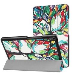 Lenovo Tab 4 8.0 Plus - Tri-Fold Book Case - Gekleurde Boom