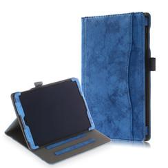 Samsung Galaxy Tab A 10.1 (2019) hoes - Wallet Book Case - Blauw