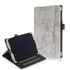 Samsung Galaxy Tab A 10.1 (2019) Case - Wallet Book Case - Grey