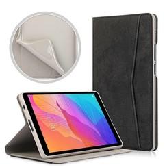 Huawei MatePad T8 hoes - Wallet TPU Book Case - Zwart