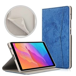 Huawei MatePad T8 hoes - Wallet TPU Book Case - Blauw