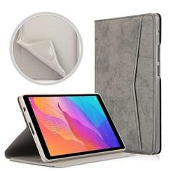 Huawei MatePad T8 hoes - Wallet TPU Book Case - Grijs