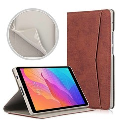 Huawei MatePad T8 hoes - Wallet TPU Book Case - Bruin