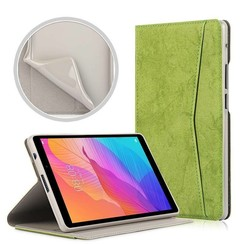Huawei MatePad T8 hoes - Wallet TPU Book Case - Groen
